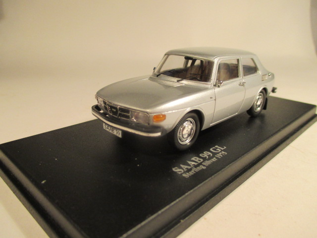 MMNC035 Nordic Collection Troféu Saab 99 GL 1975 Sterling silver front view
