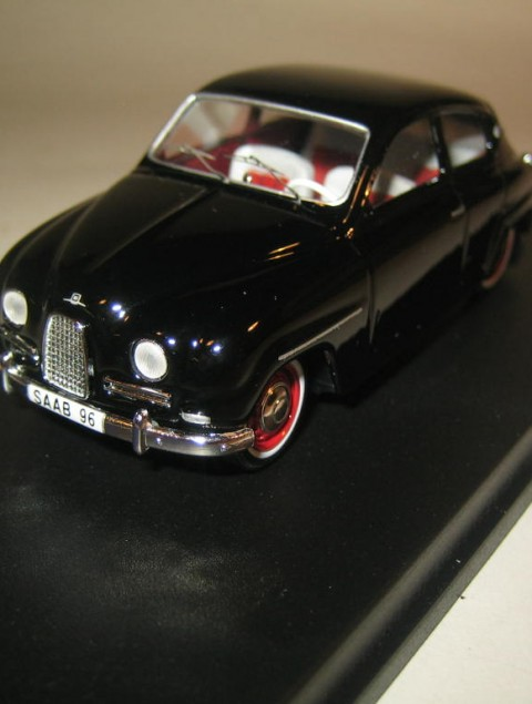 Saab 96SMNC001 Nordic Collection Troféu Saab 96 1960 black front view