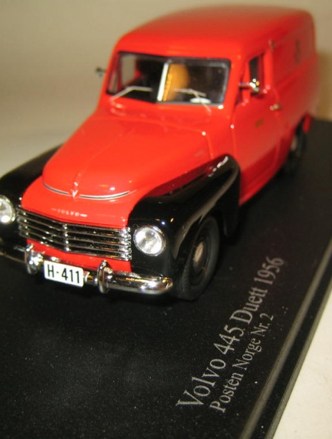 SMNC005 Nordic Collection Troféu Volvo 445 Duett 1956 Posten #2 Norway front view