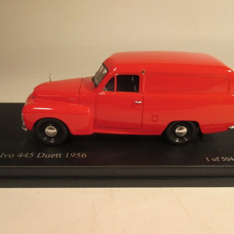 SMNC007 Nordic Collection Troféu Volvo 445 Duett 1956 red side view