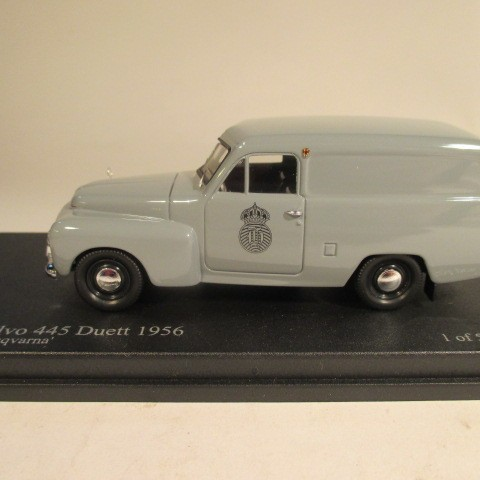 SMNC011 Nordic Collection Troféu Volvo 445 Duett 1956 Husqvarna side view