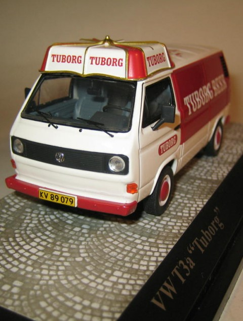 SMNC029 Nordic Collection Volkswagen VW T3a Tuborg front view