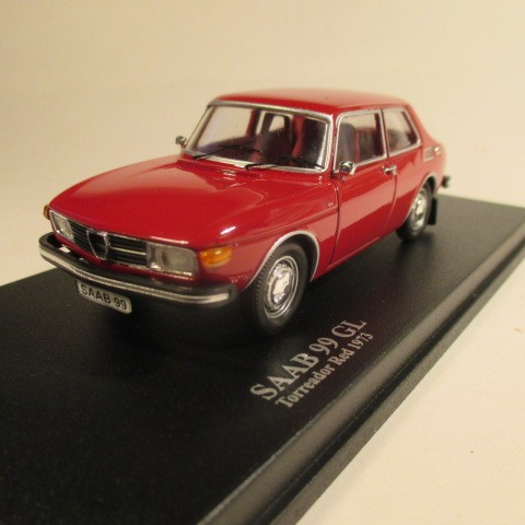 Saab 99 GL 1973 Torreador red front view